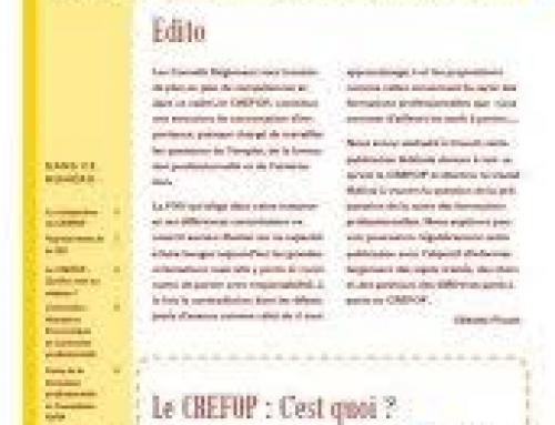 Bulletin du CREFOP n°2