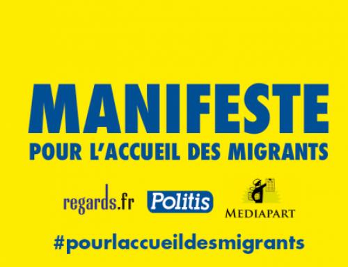 Manifeste pour l'accueil des migrant-es