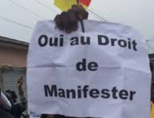 Contre l'interdiction du droit de manifester