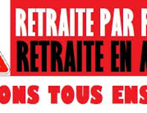 24 septembre : Mobilisation contre la réforme des retraites