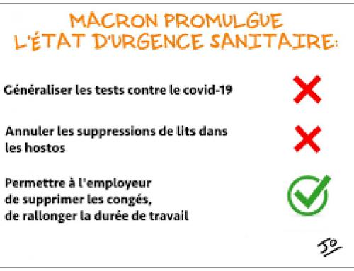 Analyse de la Loi Urgence sanitaire et Droit du Travail