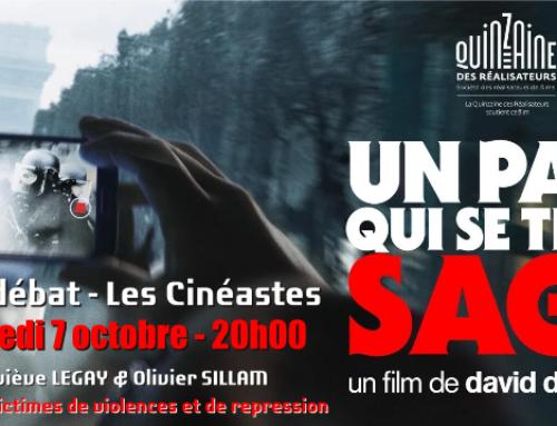 Ciné Débat mercredi 7 ocotobre autour du film «un pays qui se tient sage» de David Dufresne