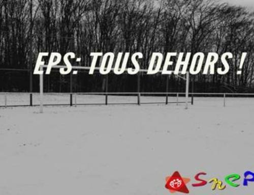 Mercredi 20 janvier devant la DSDEN , action des professeur-e-s d'EPS