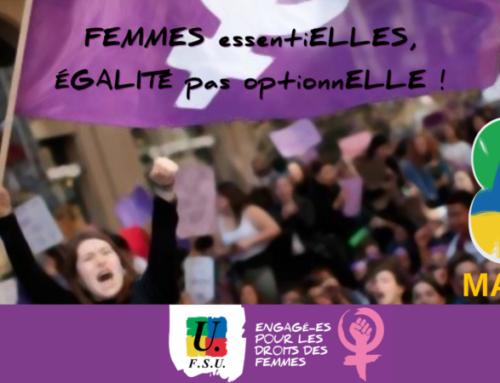 Lutte pour les droits des femmes : 6 mars journée sarthoise, 8 mars journée internationale