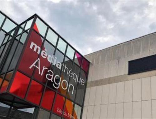 Mercredi 29/09 11h30 Parvis Médiathèque Aragon. Pour un accès égal à la culture